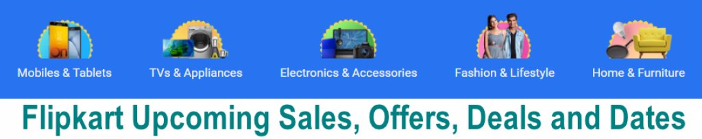 flipkart upcoming sales