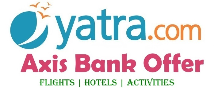 yatra axis bank offer