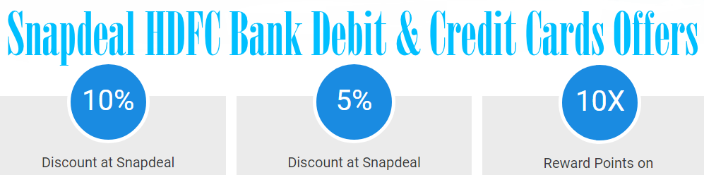 snapdeal hdfc bank offers