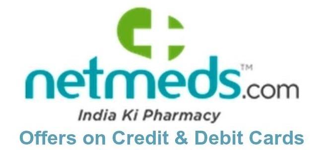 netmeds credit & debit card offers