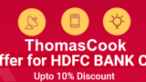 Thomascook hdfc offer