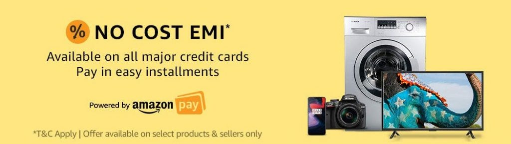 Amazon SBI No Cost EMI