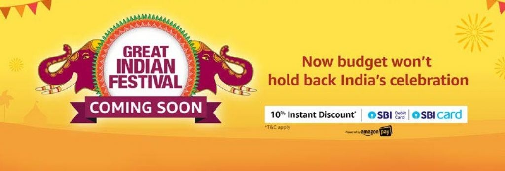 Amazon Great Indian Sale Deals Offers January 2020