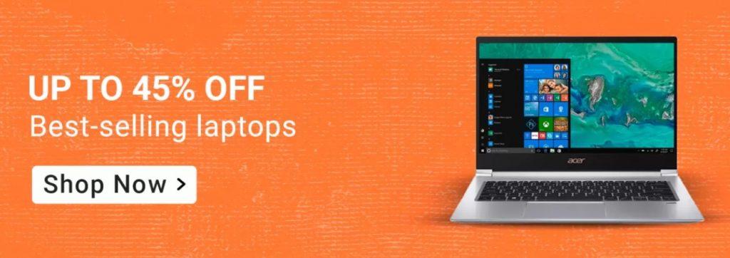 Amazon Big Billion Days Sale Offers on Laptops