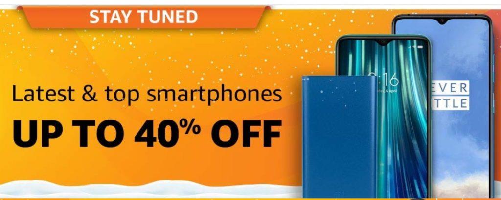 Amazon Big Billion Days Sale Offers on Mobiles