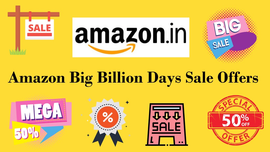 Amazon Big Billion Days Sale  Offers, Deals and Dates