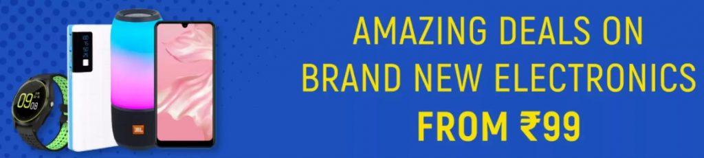 Amazon Big Billion Days Sale offers on electronics